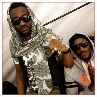 Fally Ipupa and 2Face