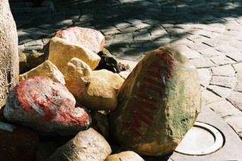 madiba-stones-outside-parliament