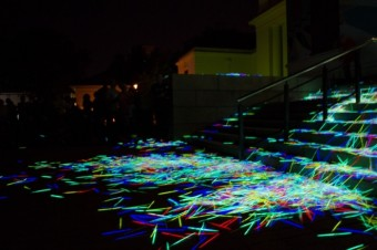 Glowing Detritus