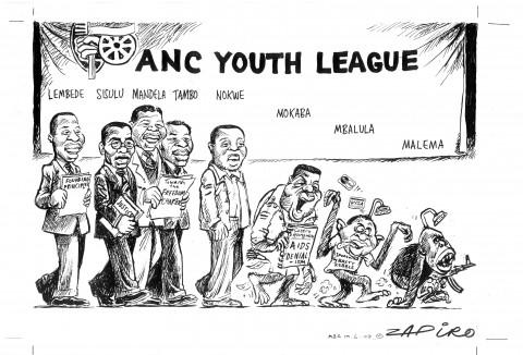 Zapiro's Malema 2