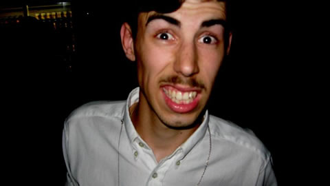 With eyebrows like that you can fail at moustache any day.
