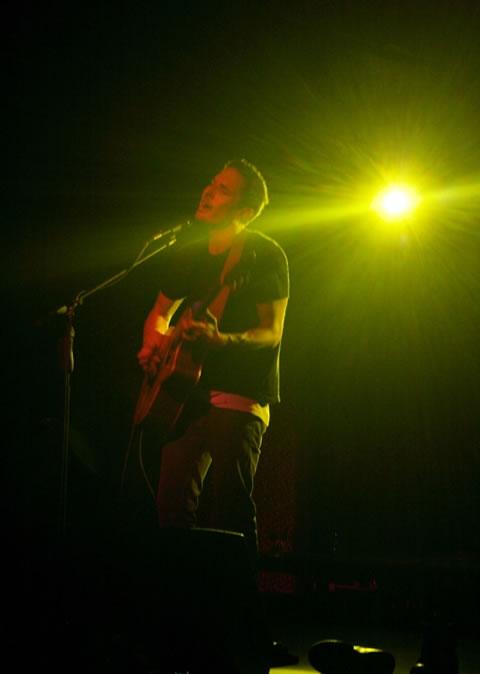 Yoav under the lights
