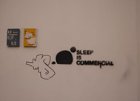 Sleep is commercial