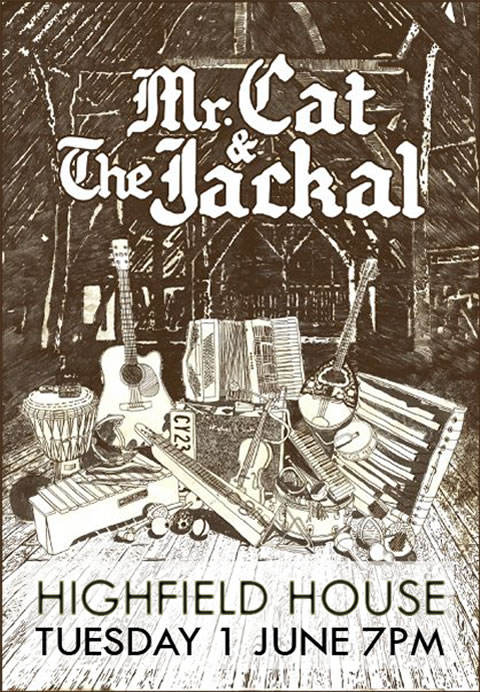 Mr Cat and the Jackal
