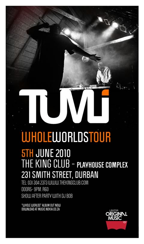 Tumi's Whole Worlds
