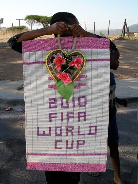 World Cup Recycled Art