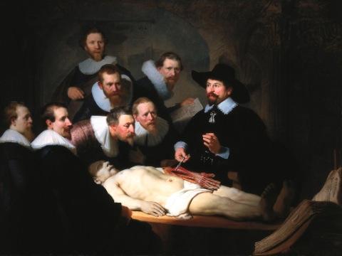 كلاس تشریح قرن 17
