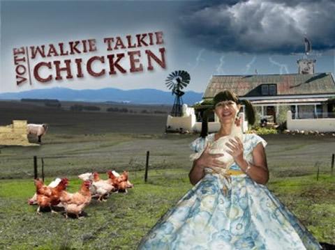 Simba Chicken Walkie-Talkie chips