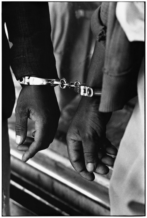 Ernest Cole - Handcuffed Men