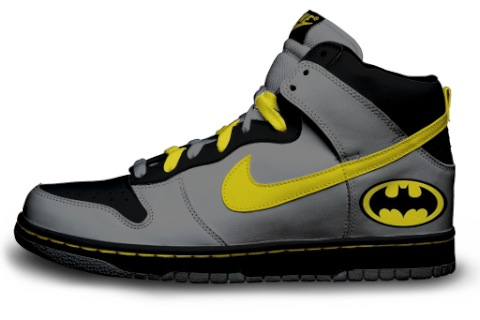 Custom Batman Nikes