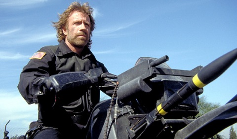 Chuck Norris in Delta Force