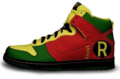 Custom Robin Nikes
