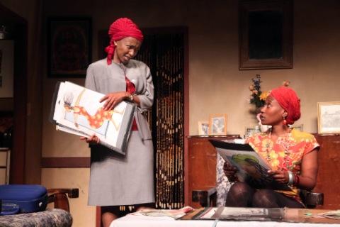 Welile Tembe and Motshabi Tyelele