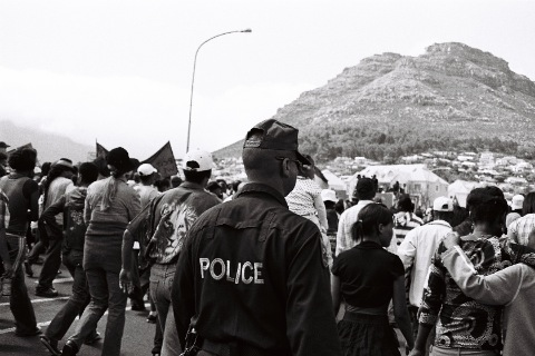 Hangberg Eviction March