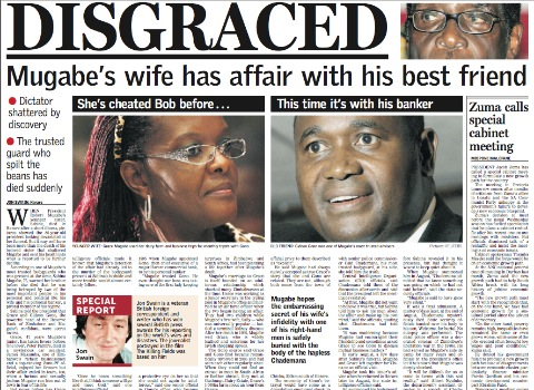 Grace Mugabe Love Cheat