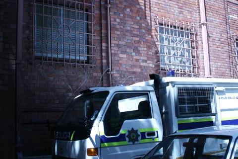 Prison Van - Danielle Clough