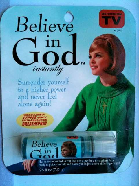 Believe in God Mouth Spray