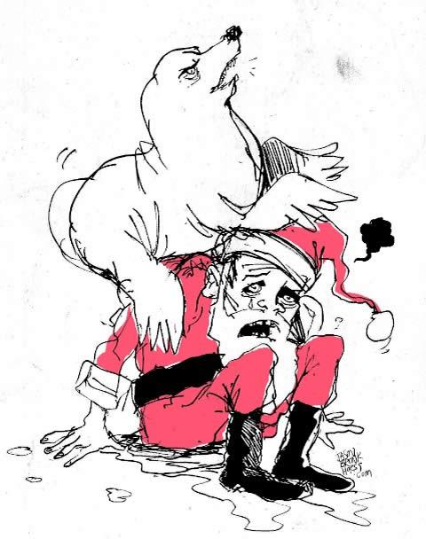 Santa (with Seals)