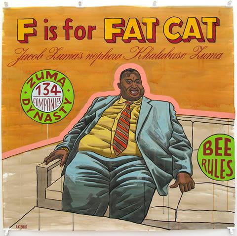 Fatcat - Anton Kannemeyer