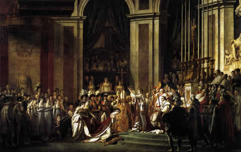 David - Napoleon's Coronation