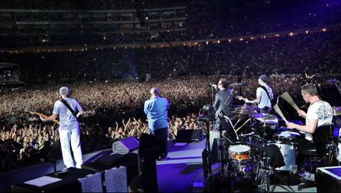 U2 and Hugh Masekela