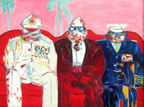 Robert Hodgins - Ubu and the Commanders in Chief