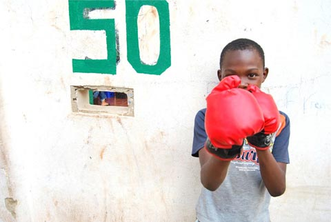 Yeoville Kids, Boxing