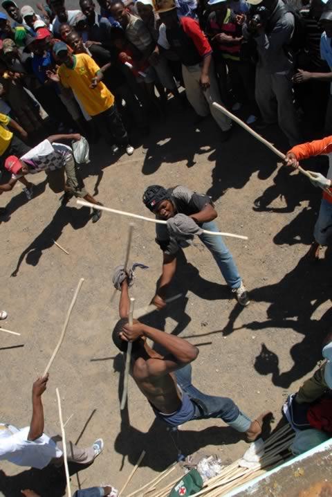 Kayamandi Xhosa Stickfighting