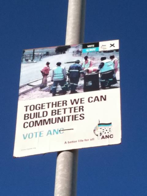 ANC 2011 Election Posters