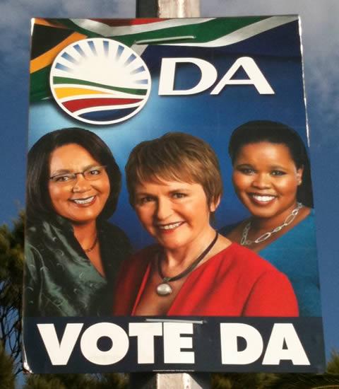 DA Election Poster