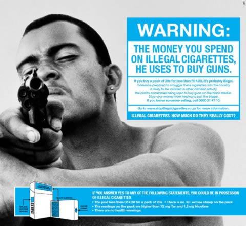 Illegal Cigarettes, Guns, BAT
