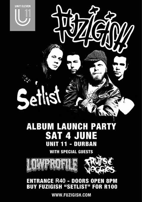 Fuzigish Setlist Tour in Durban