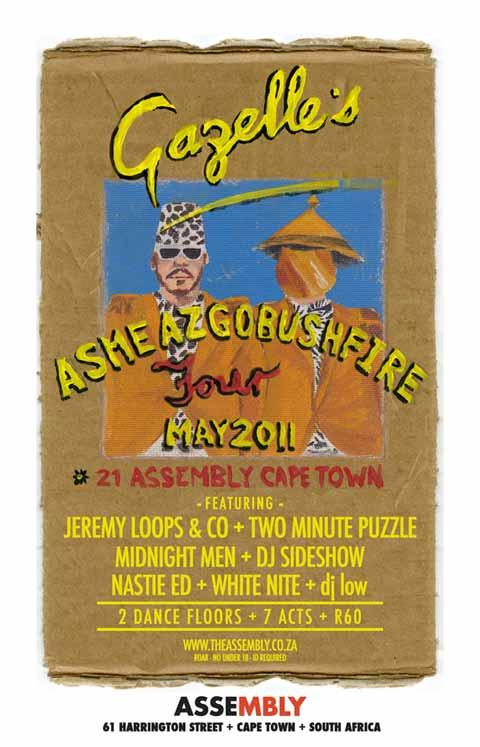 Gazelle - Gazelle Asmeazgobushfire Tour