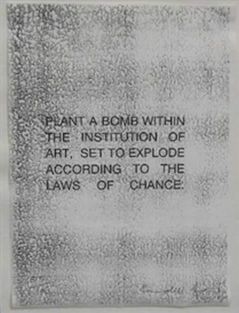 Kendell Geers, Bomb