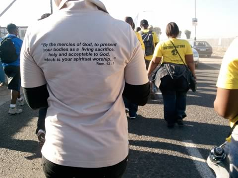 Welcome to Hell March, Gugulethu