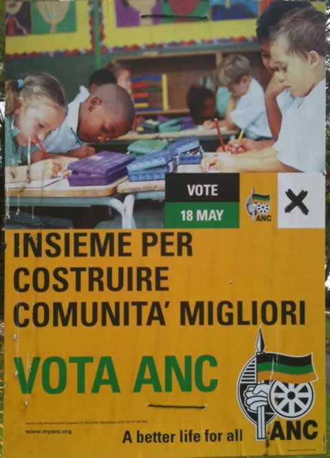 Italian ANC Poster