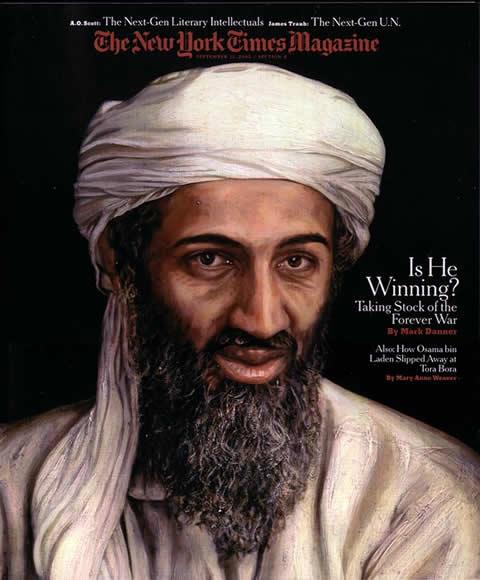 Osama bin Laden Portrait