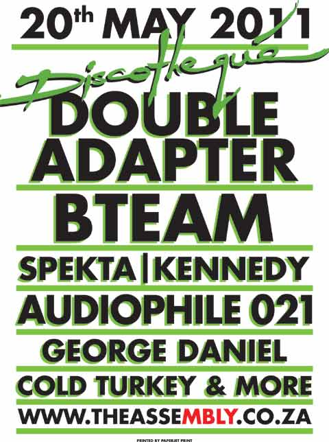 Discotheque - Double Adapter Documentary Launch