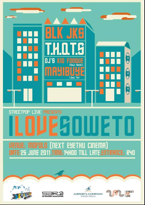 Street Pop Live - I Love Soweto