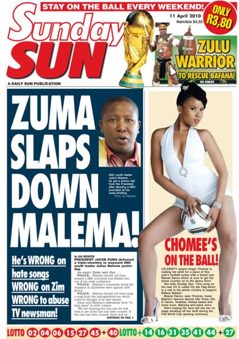 South African Tabloids