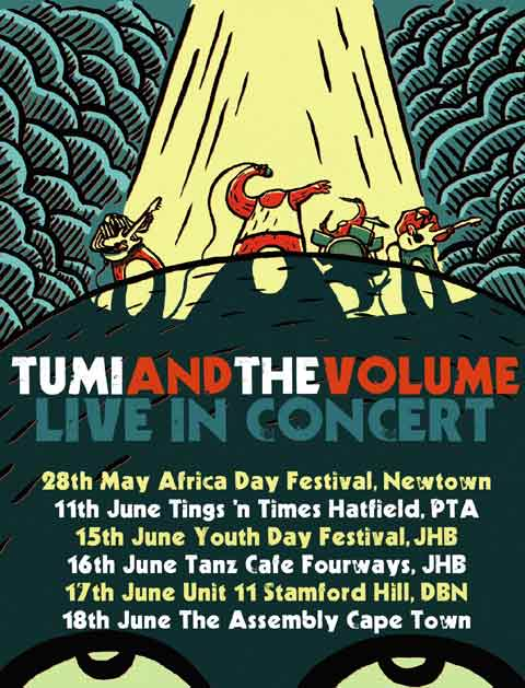 Tumi And The Volume On Tour