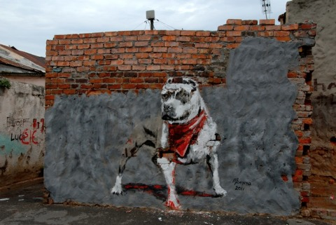 Ghetto Dog Names http://www.mahala.co.za/kif_or_kak/patron-saint-of-the-ghetto/