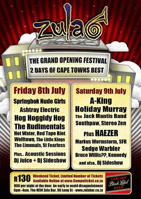 Zula - The Grand Opening