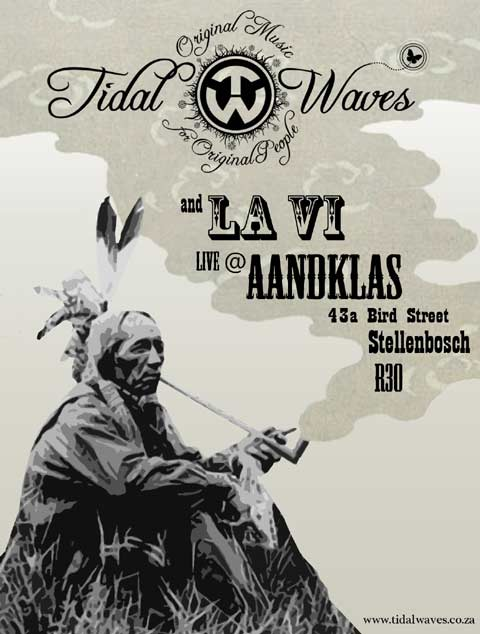 13 July - Tidal Waves at Aandklas with La Vi