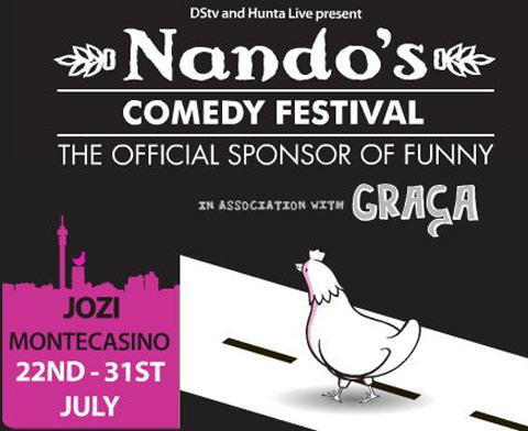 Freebie - Nando's Jozi Comedy Festival 2011