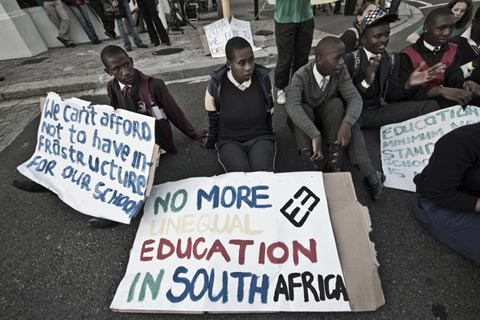 Equal Education Vigil