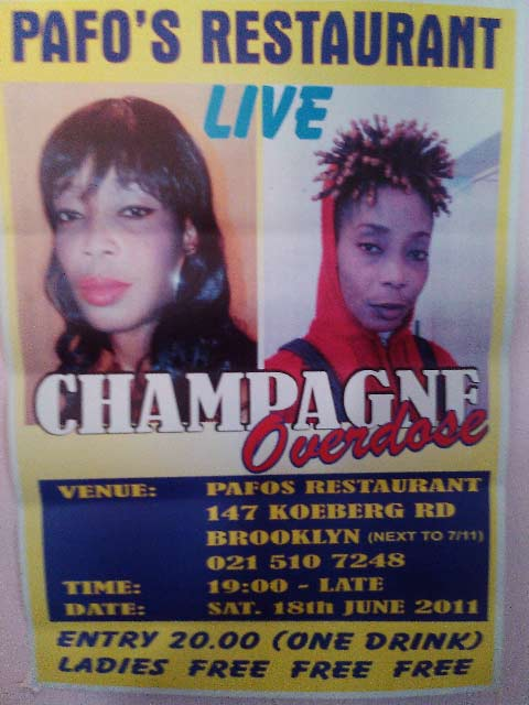 KIF OR KAK, Champagne Overdose