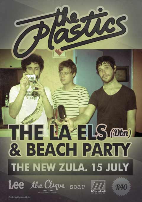 15 July 2011 - The Plastics, The LA Els and Beach Party at Zula