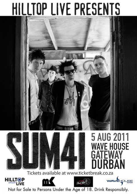 Freebies - Sum 41 Live at Wavehouse