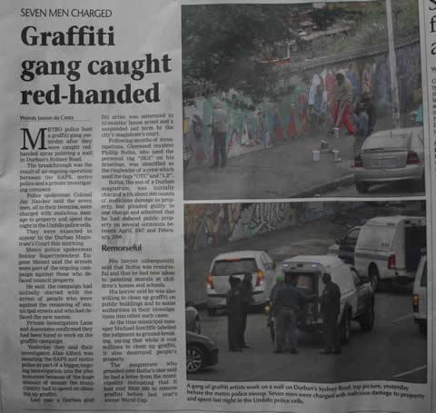 Durban Graffiti